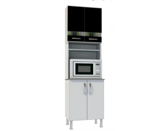 Modulado Cozinha Bruna II 4623 Cristaleira