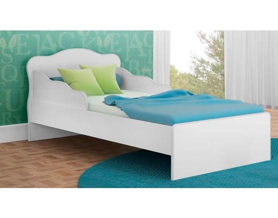 Mini Cama Doce Sonho 113 Branco-Branco-Branco Qmovi