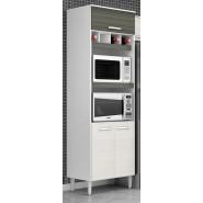 Paneleiro Duplo Bruna II 5602 Para Forno e Microondas Poquema